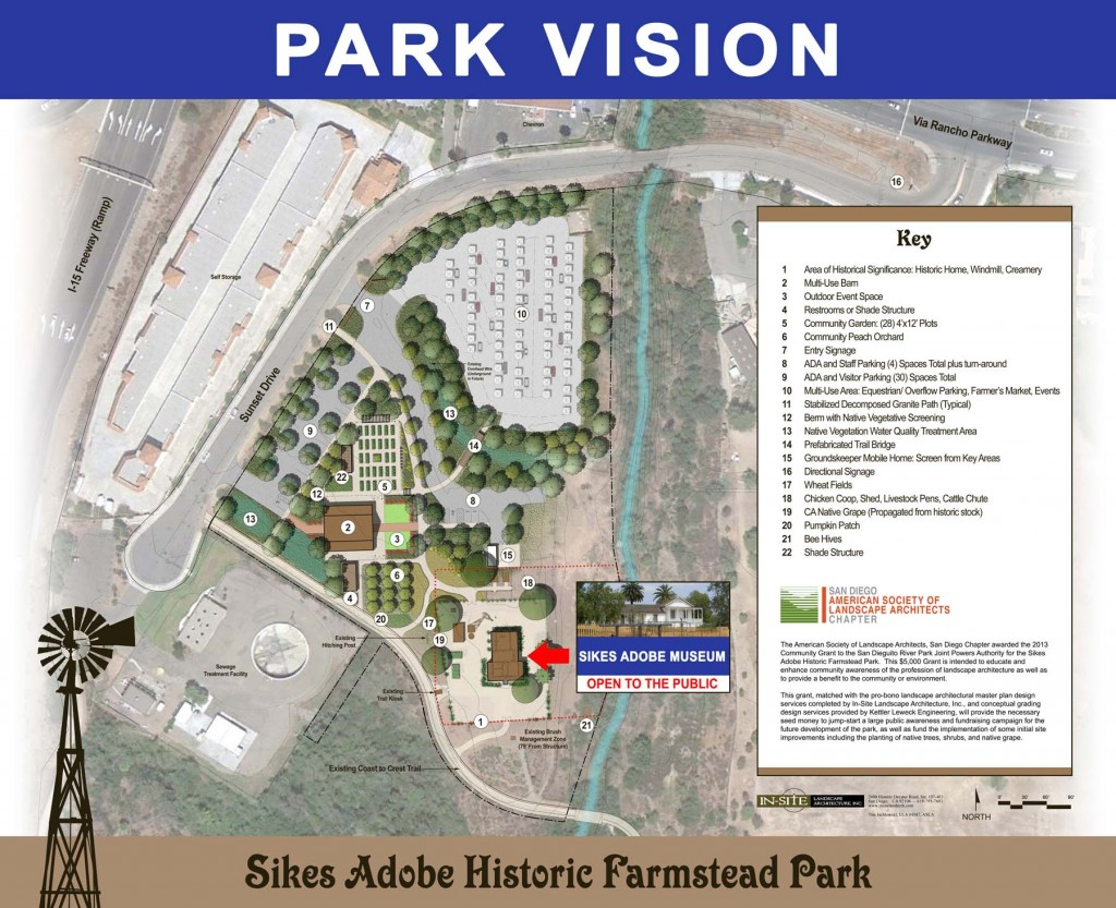 Park Vision for Sikes Adobe
