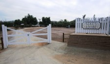 Sikes Adobe New Gate and Sign