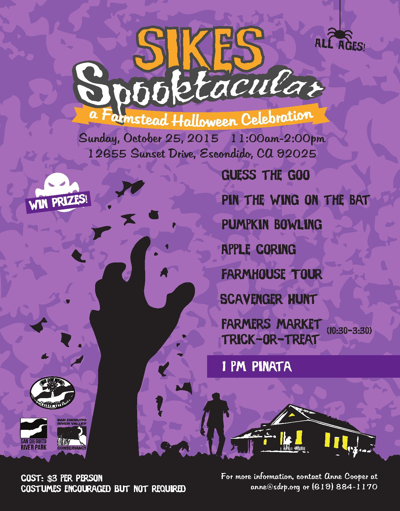 Sikes Spooktacular 2015